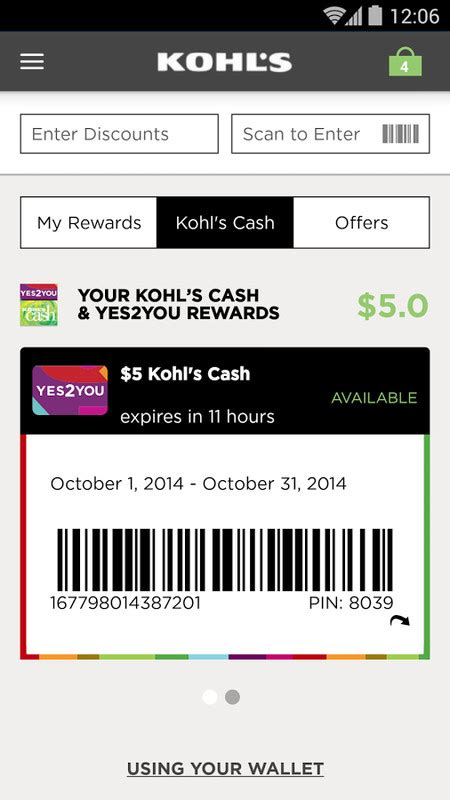Can You Use Kohl S Cash For Gift Cards - kohl s apk free android app download appraw