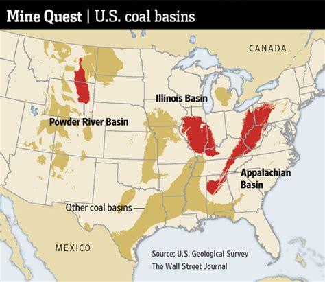 map of illinois basin coal mines industrial history kentucky coal mining