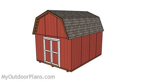 barn shed plans myoutdoorplans  woodworking