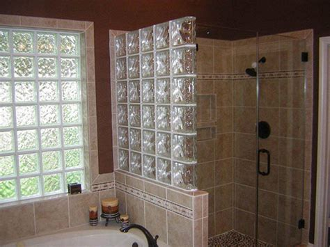 Bathroom Glass Tile Designs by Glass Block Walls In Houston Houston Glass Block