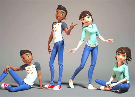 3d Character Models Free
