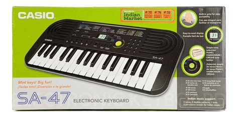 Keyboard Casio Sa 47 buy casio electronic keyboard sa 47 without charger in india kheliya toys