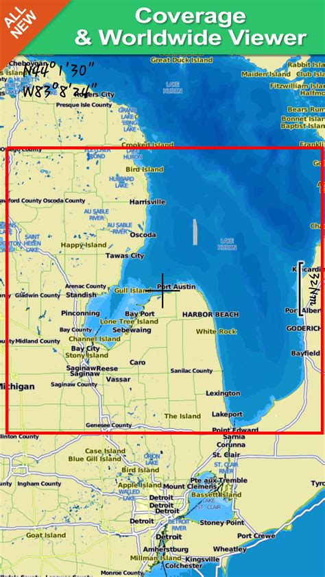 gps map appstore for android saginaw bay gps map navigator appstore for