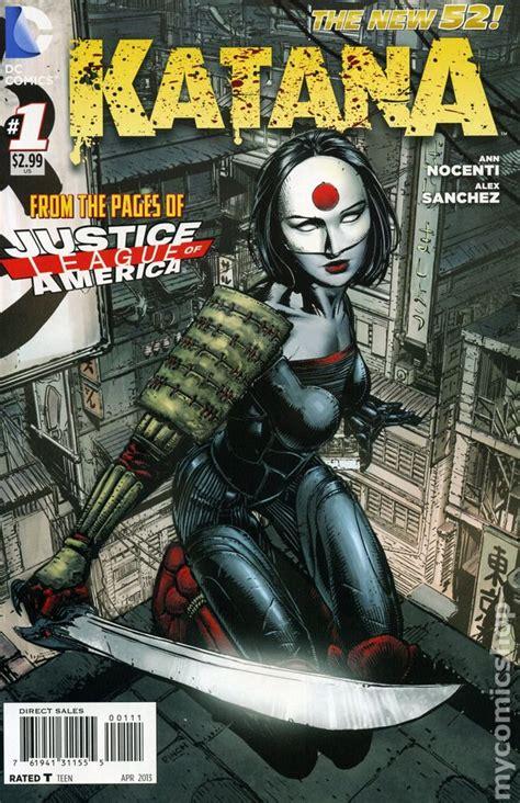 Katana Dc Comics | katana 2013 dc comic books
