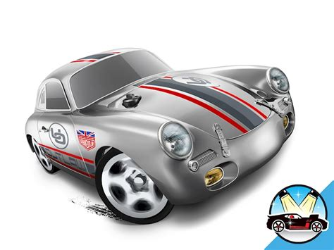 Hotwheels Porsche porsche 356a outlaw shop wheels cars trucks race tracks wheels