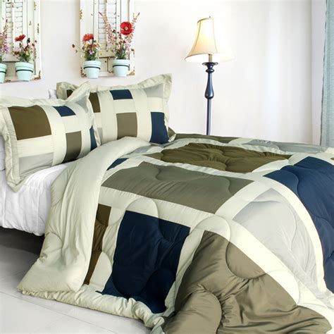 full size down alternative comforter amorous feelings quilted patchwork down alternative