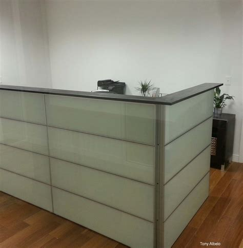 Small Reception Desk Ikea Ikea Hack Converted 12 Framsta Panels Into Reception Counter Wood Top Is 8 Quot Pine Painted To