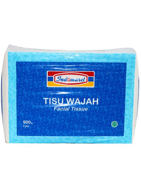 Tissue 900g 2 Ply indomaret tissue non perfumed bag 900g klikindomaret