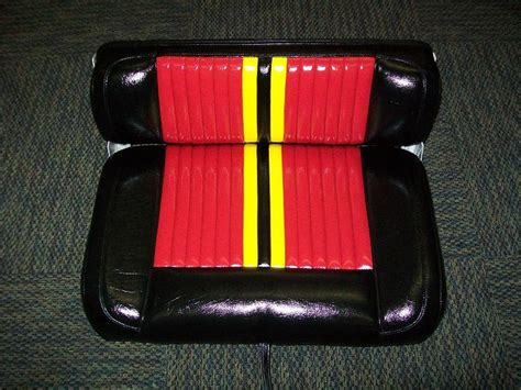 yellow bass boat seats viewing a thread sold for sale 3 bullet bass boat seats