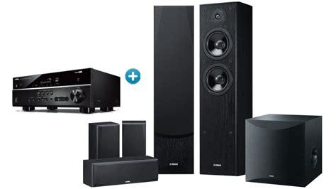 buy yamaha rx   av receiver  speaker package