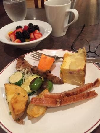 breakfast buffet serving picture of share wine bar