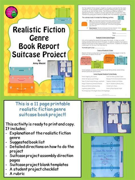 book report project elements of a book report 28 images components of a