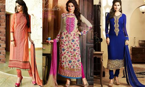 fashion design ladies suit indian fashion churidar suits designs collection 2015 16