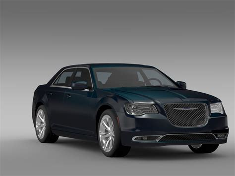 chrysler car models chrysler 300 c lx2 2016 3d model max obj 3ds fbx c4d lwo