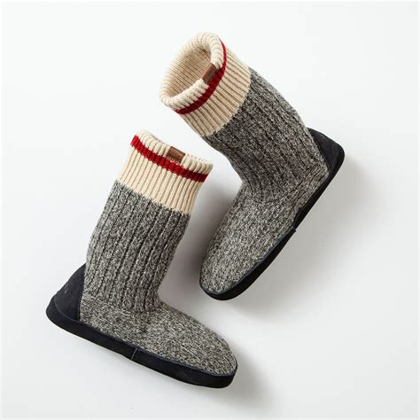 roots slippers canada womens cabin sock slippers roots socks for on