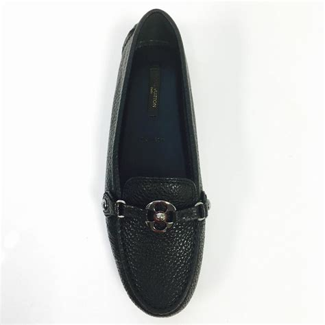 louis vuitton loafers for sale louis vuitton black leather rumor flat loafers 36 5 new