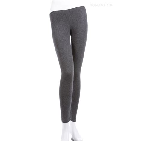 Basic Comfy Legging plain solid cotton stretchable comfortable basic athletic s m l ebay