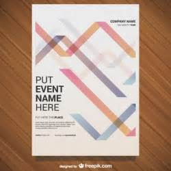 Posters Design Templates by Event Poster Template Vector Free