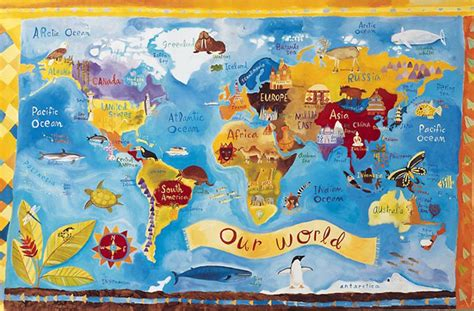 London Wall Mural world map wallpaper for kids wallpapersafari