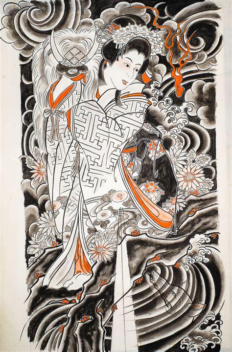 japanese tattoo design book osen ii enigmatic genius of irezumi design