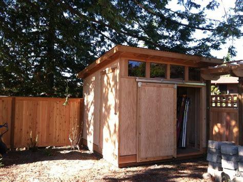 Modern Shed Seattle by Backyard Shed Modern Shed Seattle By Cedarcraft