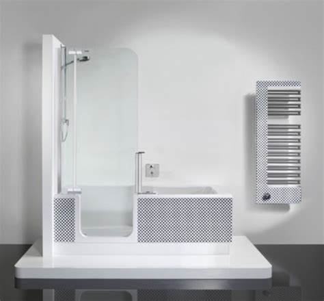 bathtub outfitters modern shower and tub unit in one digsdigs