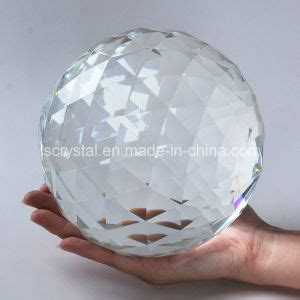 crystal prisms for ls china large cut crystal sphere 150mm faceted gazing ball