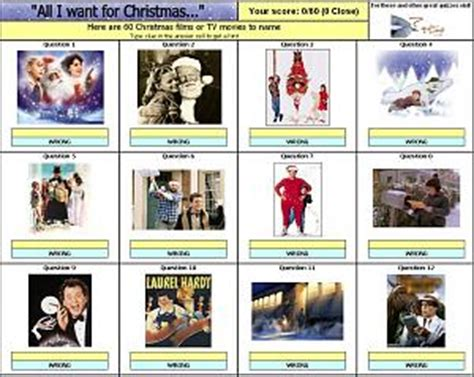 christmas film quiz answers christmas film picture quiz my blog