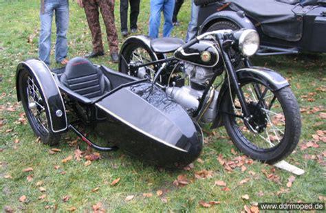 Dkw Motorrad Mit Beiwagen by Wintertreffen Augustusburg 2007 Ddrmoped De