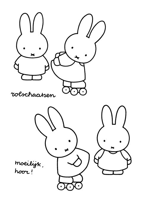 Coloring Page Miffy Coloring Pages 16 Miffy Coloring Pages