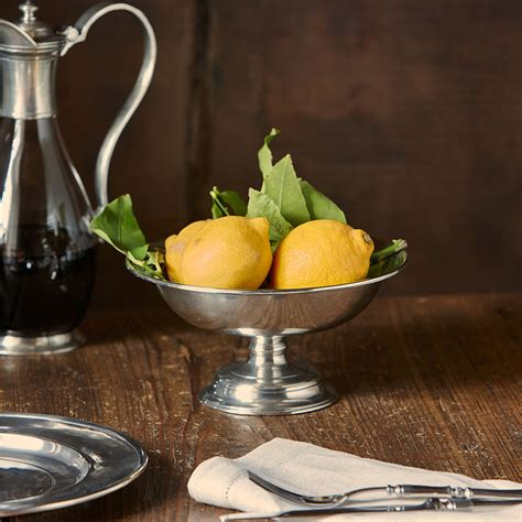 4 fruit compote fruit compote grey pewter cm 21xh10 5 by cosi tabellini