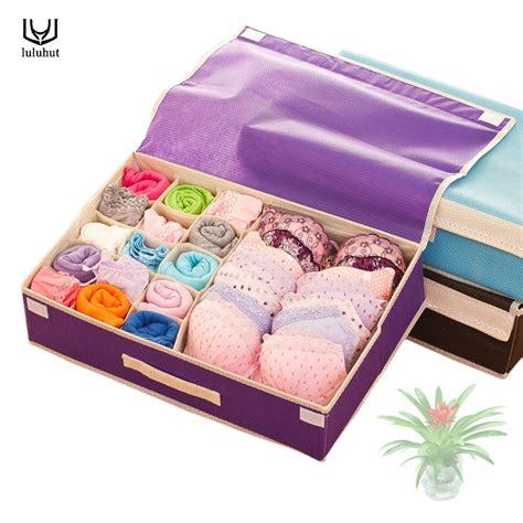 Box Bra Motif luluhut home storage organization high quality non woven storage box high quality