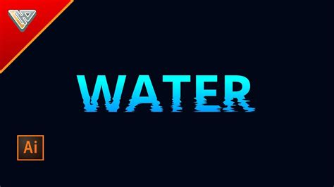 how to create explosion text effect in illustrator how to make a text effect water waves illustrator