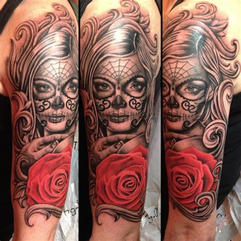 tattoo nightmares day of the dead collection of 25 day of the dead tattoo