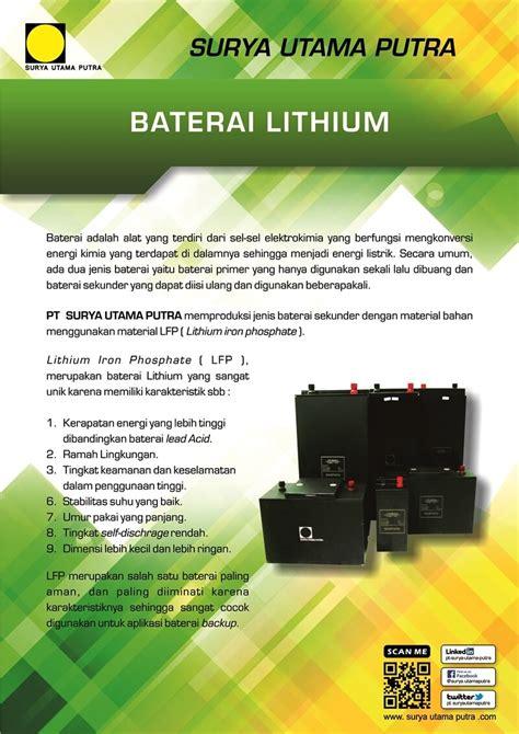 Kalkulator Office 10 Digit Energi Tenaga Solar Surya baterai lithium ferro phospate lifepo4 pt surya utama putra
