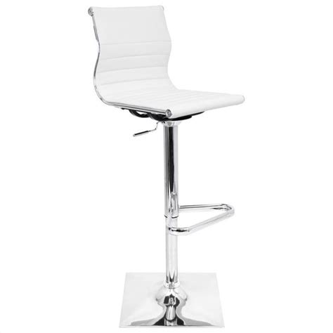 White Bar Stool Chairs Lumisource Master White Bar Stool Ebay