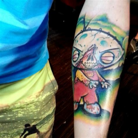 stewie tattoo designs seasonally ghoulish and creative tattoos