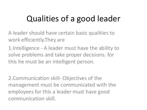 essay qualities of a good leader essay academic writing service