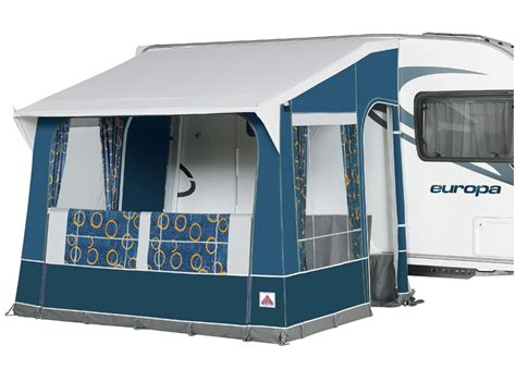 all season awnings dorema quattro 275 all season caravan porch awning blue steel 2016 ebay
