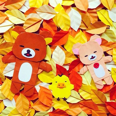 rilakkuma origami 198 best images about origami papercraft on