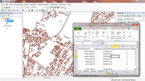 arcgis tutorial shapefile create shapefile from excel in arcgis 10 5 youtube