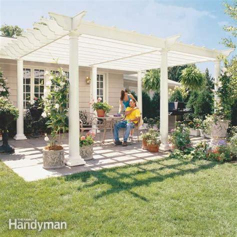 diy pergola plans ideas   build   garden