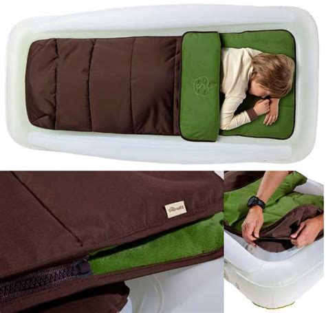 shrunks travel bed a comfortable and cosy outdoor toddler travel bed from the