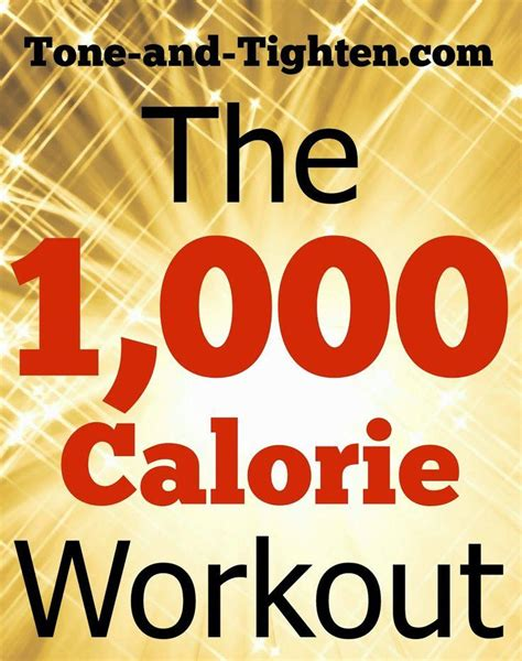 tone tighten 1000 calorie at home cardio workout total