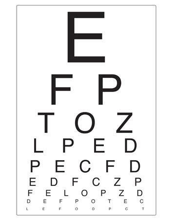 printable eye chart preschool eye chart opticians role play free eyfs ks1