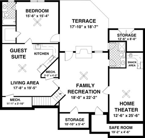 free house plans with basements the falls church 8450 3 bedrooms and 2 5 baths the