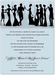formal holiday friends invitation christmas party