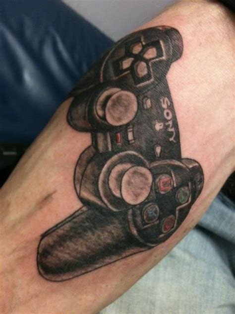 playstation tattoos