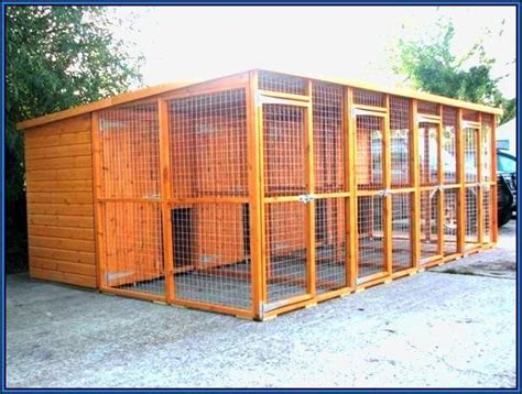 boarding kennel plans