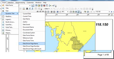 arcgis layout dynamic text data driven pages trabalhando com multiplos layouts no